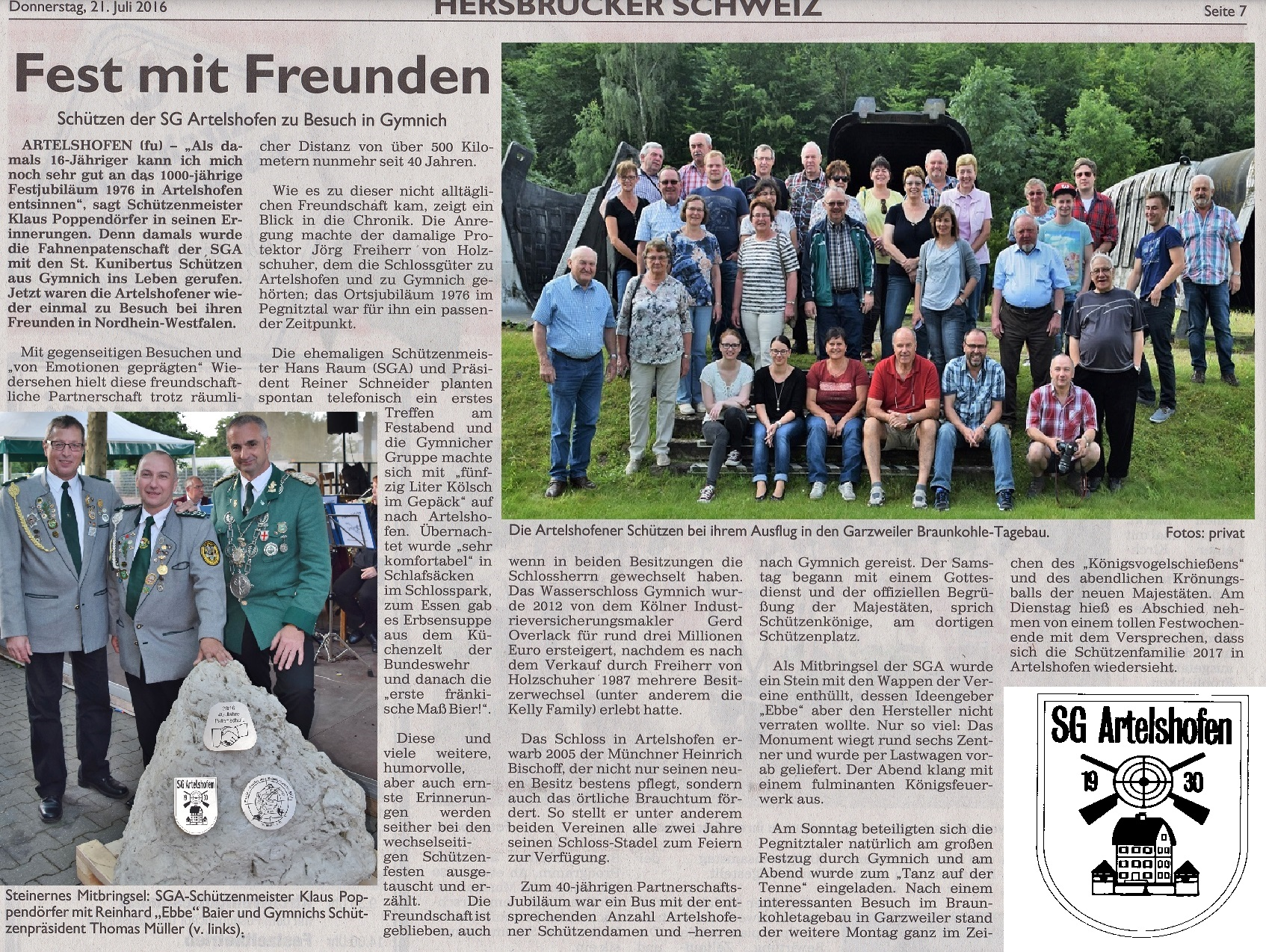 2016 07 SGA in Gymnich